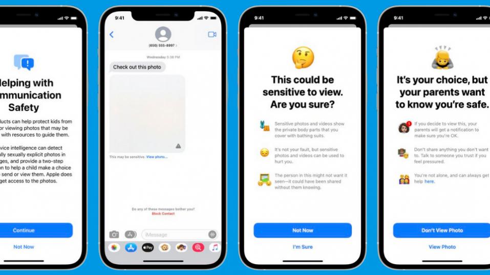 Η Apple θα ειδοποιεί τους γονείς αν εντοπίσει γυμνό στο iPhone του παιδιού τους