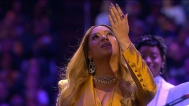 Η Beyoncé τραγούδησε στην τελετή για τον Kobe Bryant