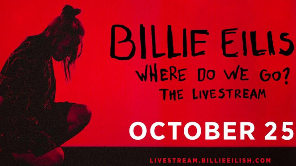 Live stream συναυλία από την Billie Eilish . .